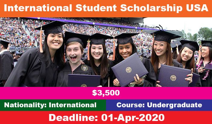 Scholarships For International Students In Usa Universities