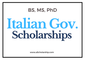 Open Scholarships For International Students 2021