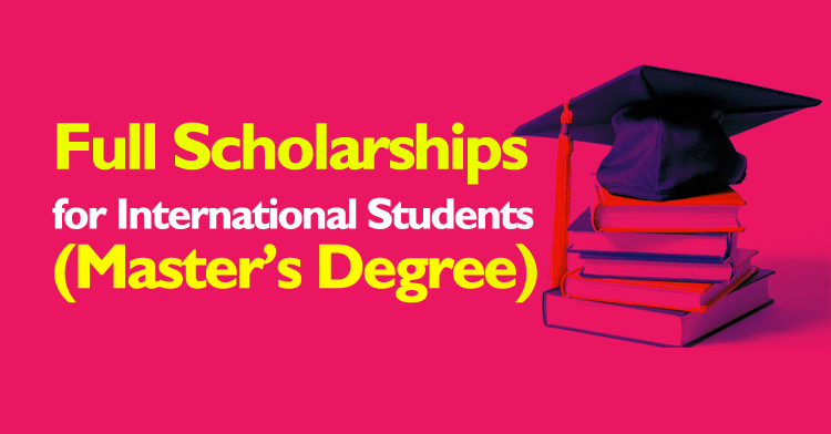 Full Scholarships For Masters Degree In Usa For International Students