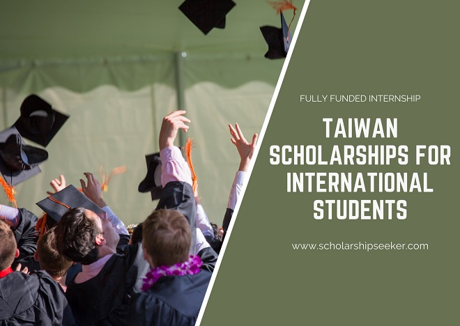 Taiwan Scholarships For International Students 2021